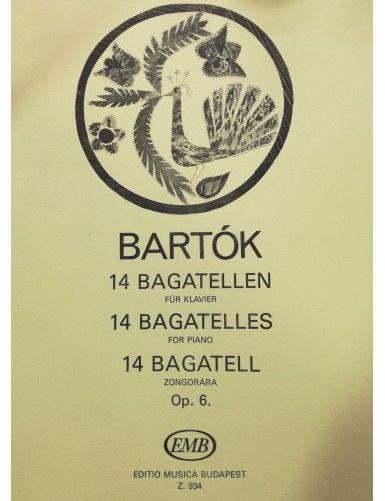 14 BAGATELAS OP.6 PIANO -...