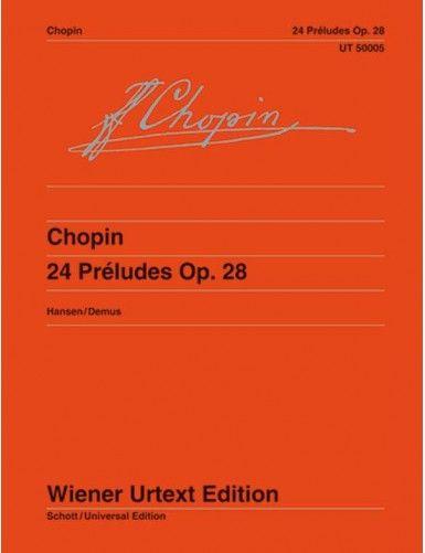 24 PRELUDIOS OP.28 PIANO -...