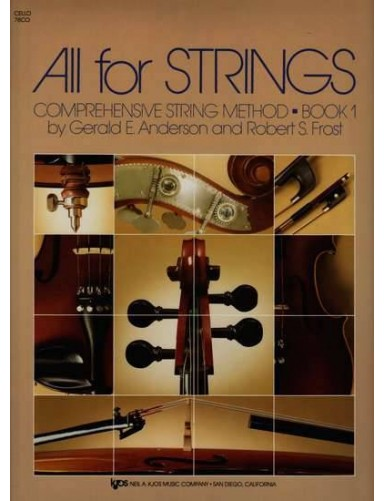 ALL FOR STRINGS VOL.1 CELLO...