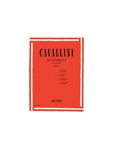 30 CAPRICHOS CLARINETE -...