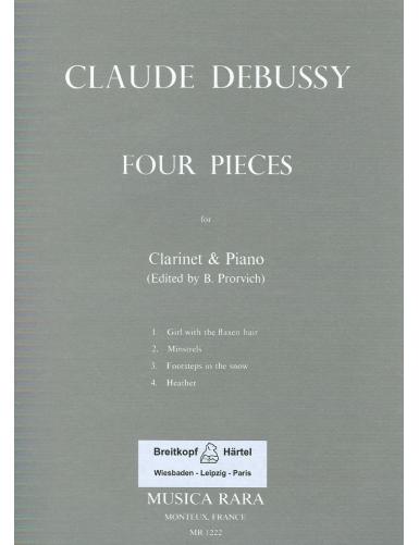 4 PIEZAS CLARINETE Y PIANO...