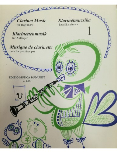 CLARINET MUSIC FOR...