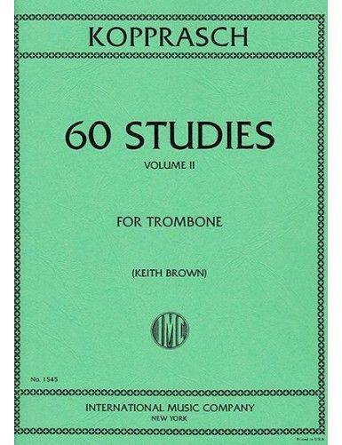 60 ESTUDIOS VOL. 2 TROMBON...