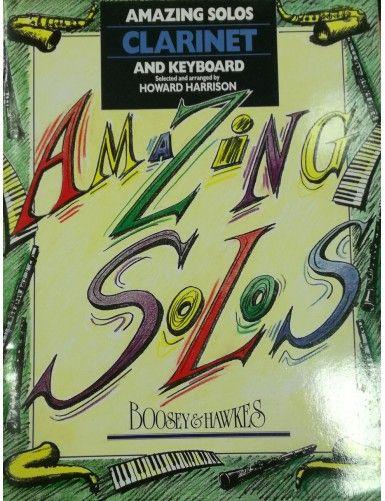 AMAZING SOLOS CLARINETE -...
