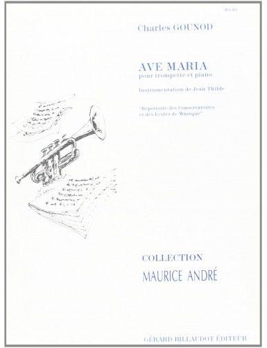 AVE MARIA TROMPETA Y PIANO...
