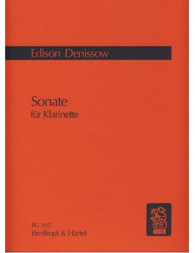 SONATA CLARINETE - DENISOV...