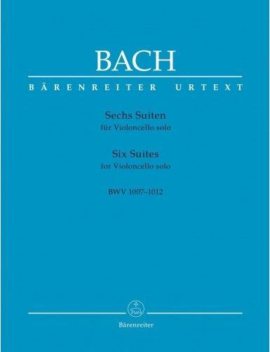 6 SUITE BWV 1007-1012 CELLO...