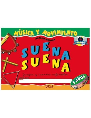 SUENA SUENA 3 AÑOS CON CD -...