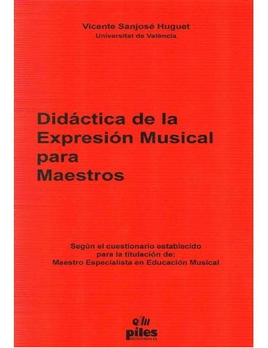 DIDACTICA EXPRESION MUSICAL...