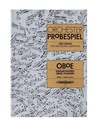 ORCHESTER PROBESPIEL OBOE -...