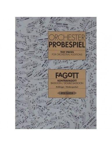 ORCHESTER PROBESPIEL FAGOT...