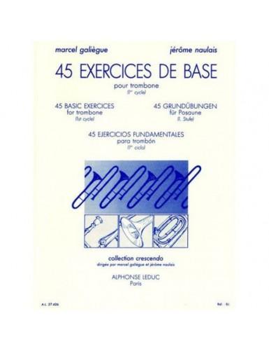 45 EJERCICOS DE BASE VOL.1...