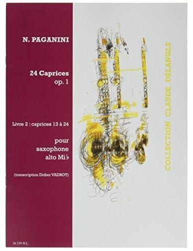 24 CAPRICHOS OP.1 VOL.2...