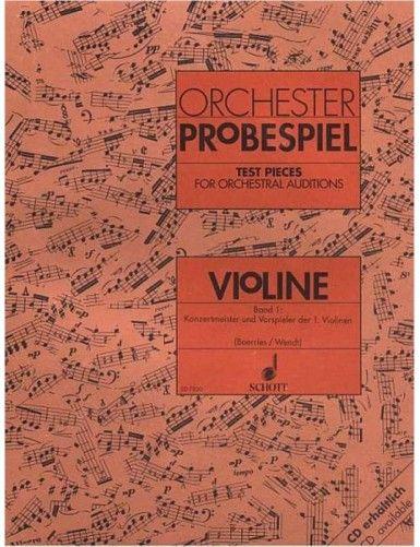 ORCHESTER PROBESPIEL VOL.1...