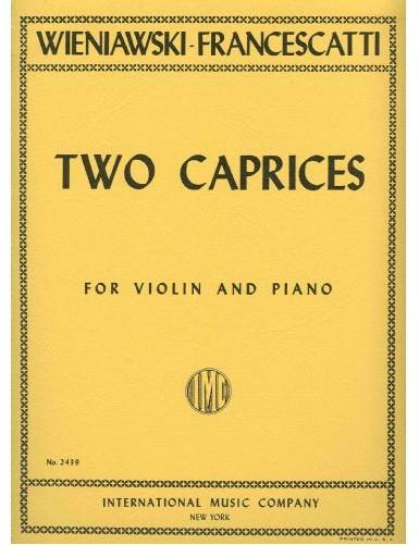 2 CAPRICHOS VIOLIN Y PIANO...