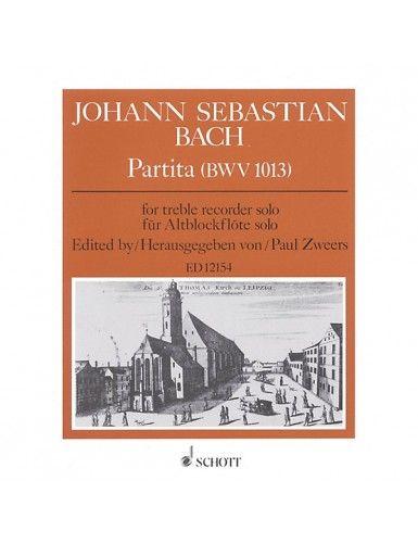 PARTITA BWV 1013 FLAUTA -...