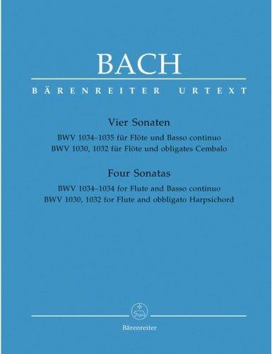 4 SONATAS BWV 1030, 1032,...