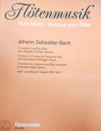 OBERTURA SI MENOR BWV 1067...
