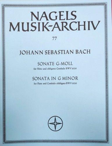 SONATA SOL MENOR BWV 1020...