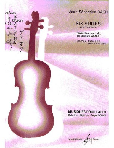 6 SUITES VOL.2 BWV 1010,...