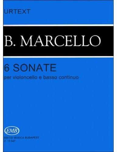 6 SONATAS CELLO Y BAJO...