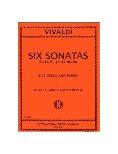 6 SONATAS RV 47, 41, 43,...