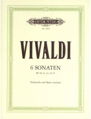 6 SONATAS CELLO Y PIANO -...