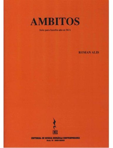 AMBITOS OP.135 SAXOFON ALTO...