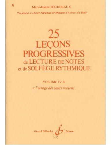25 LECCIONES PROGRESIVAS...