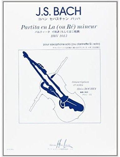 PARTITA LA MENOR BWV 1013...
