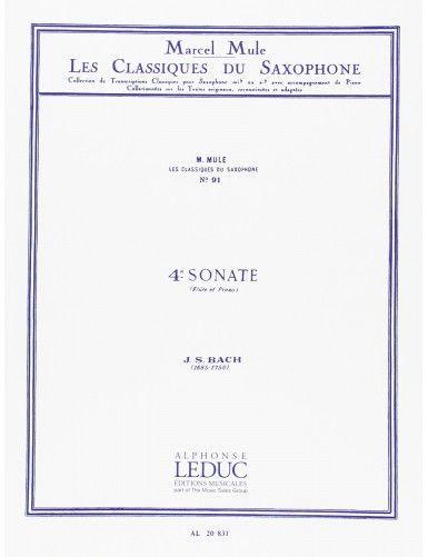 4ª SONATA SAXOFON ALTO Y...