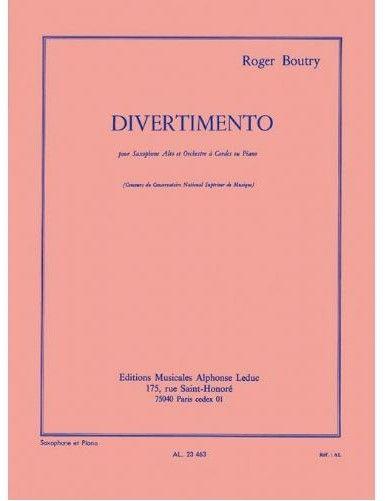 DIVERTIMENTO SAXOFON ALTO...
