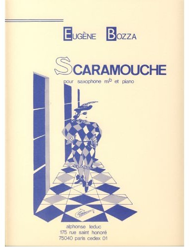 SCARAMOUCHE SAXOFON ALTO Y...