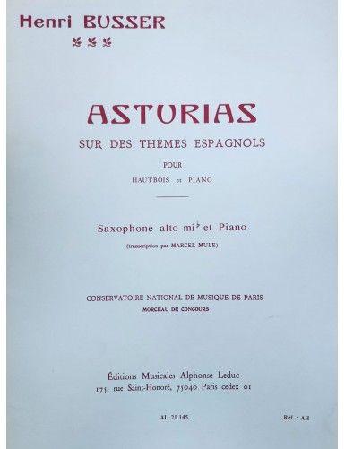 ASTURIAS SAXOFON ALTO Y...