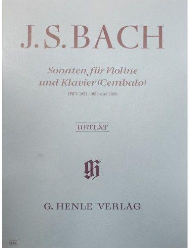 SONATAS BWV 1021, 1023,...