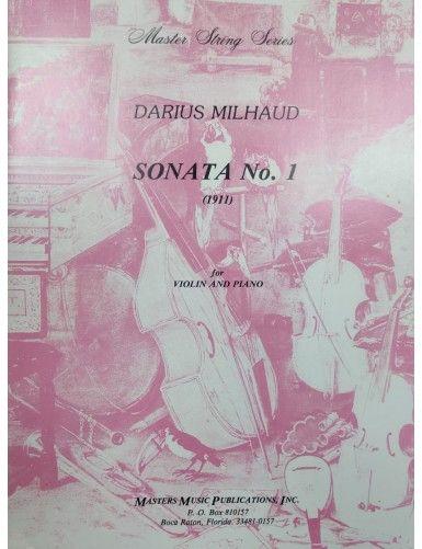 SONATA Nº1 VIOLIN Y PIANO -...