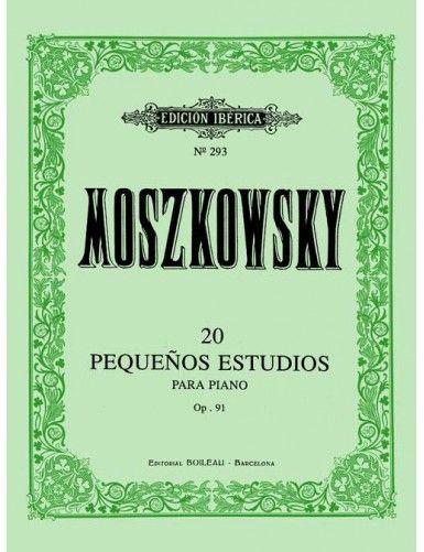 20 PEQUEÑOS ESTUDIOS PIANO...