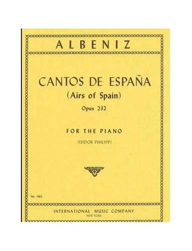 CANTOS DE ESPAÑA PIANO...