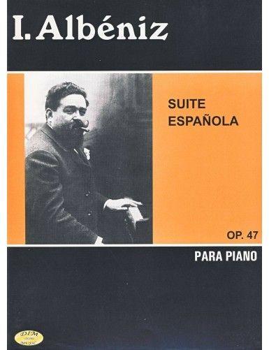 SUITE ESPAÑOLA OP.47 PIANO...