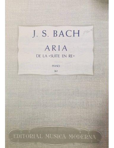 ARIA DE LA SUITE EN RE...