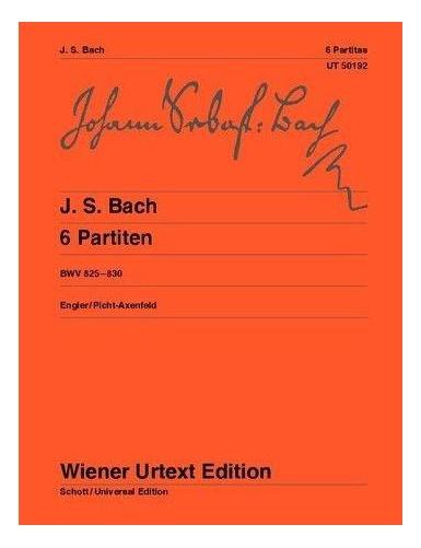 6 PARTITAS BWV 825-830...