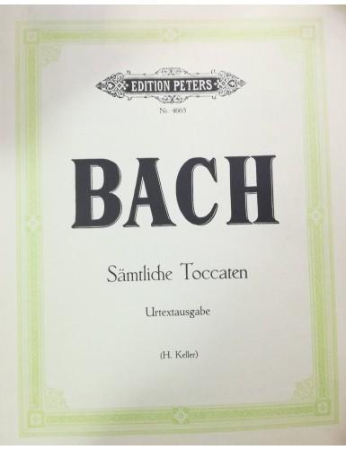 7 TOCCATAS PIANO - BACH