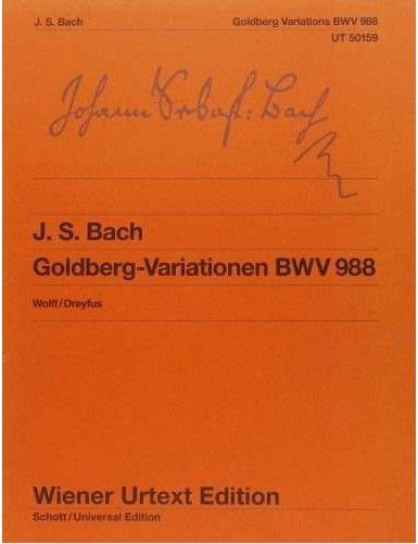 VARIACIONES GOLDBERG BWV...