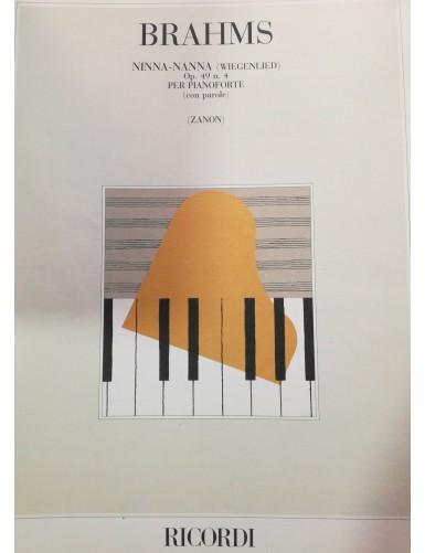 NINNA-NANNA OP.49 Nº4 PIANO...