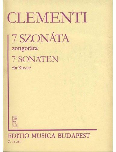 7 SONATAS PIANO - CLEMENTI