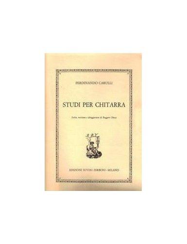STUDI PER CHITARRA - CARULLI