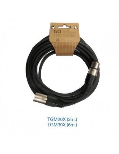 CABLE PARA MICROFONO TGM20X...